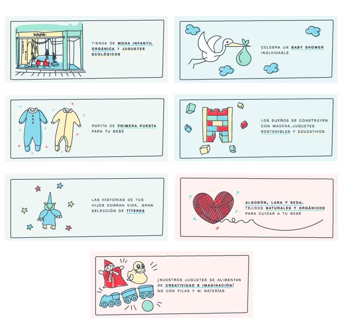ilustraciones-web-para-tienda-ropa-organica-accesorios-bebe