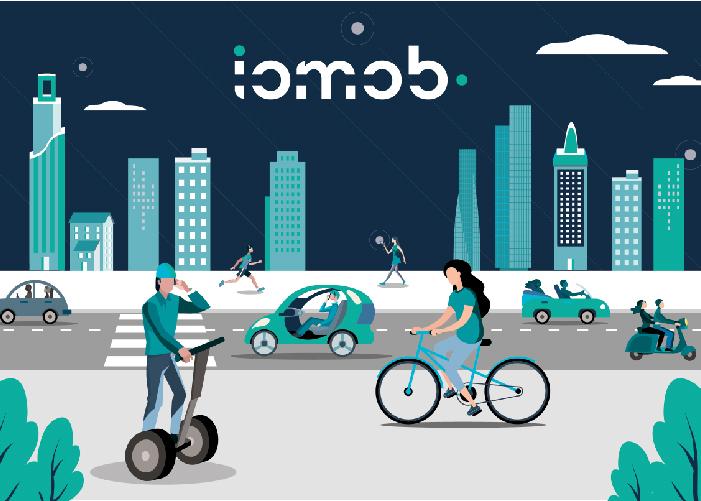dieño de logo blockchain, smart cities, movilidad