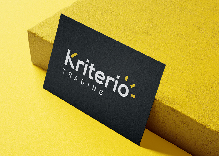 diseño logo trading