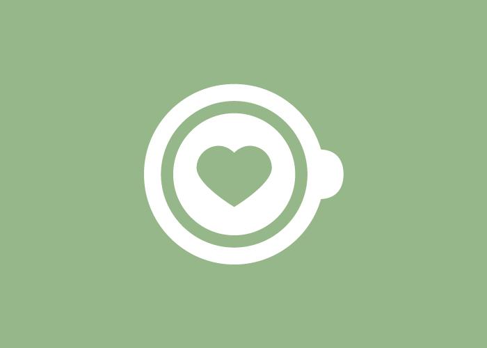 Diseño de logotipo para cafetería ecológica