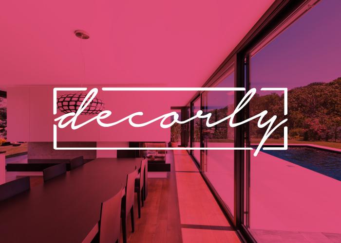 Diseño de logotipo para empresa de decoración e interiorismo