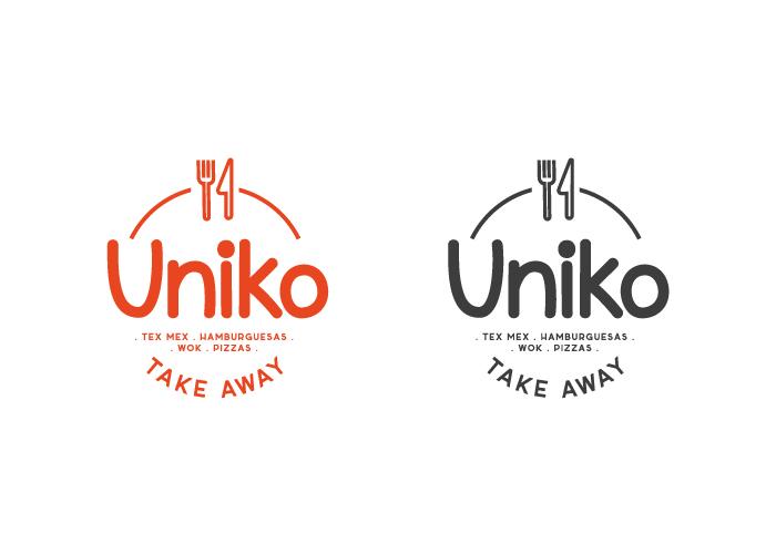 Diseño de logotipo sello comida