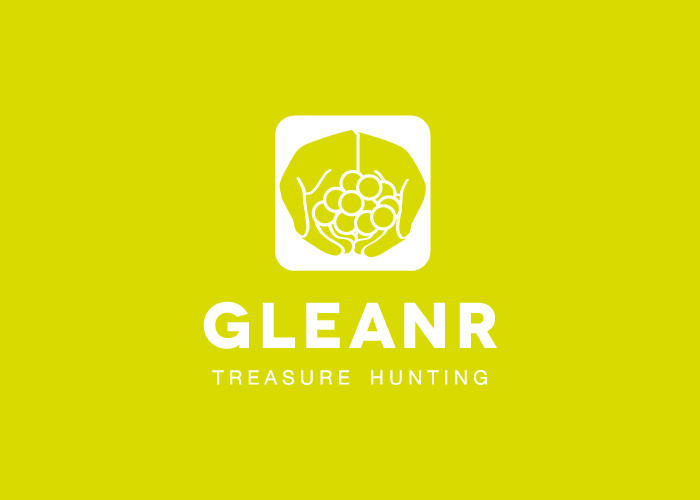 Diseño de logo de app para buscar tesoros