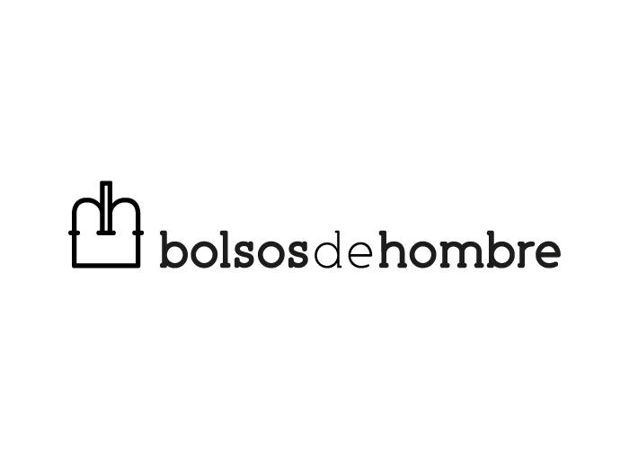 Diseño de logotipo para web de venta de bolsos para hombre