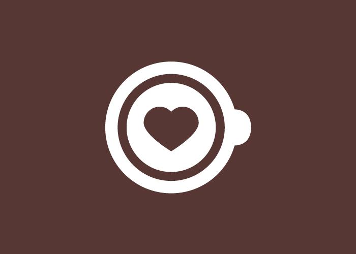 Diseño de logotipo taza de café