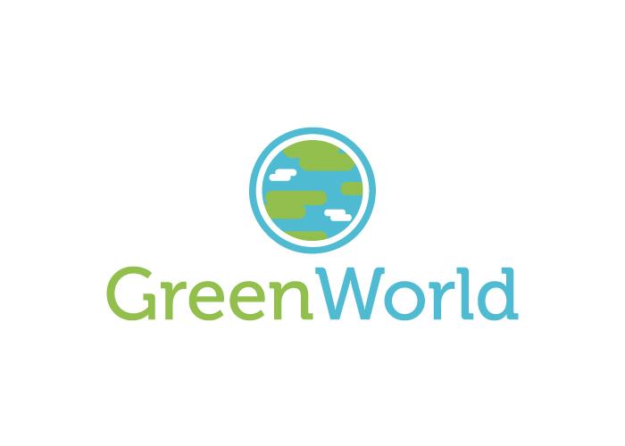 Diseño de logotipo para empresa dedicada al mantenimiento y la instalación de follajes, jardines y edificios verdes
