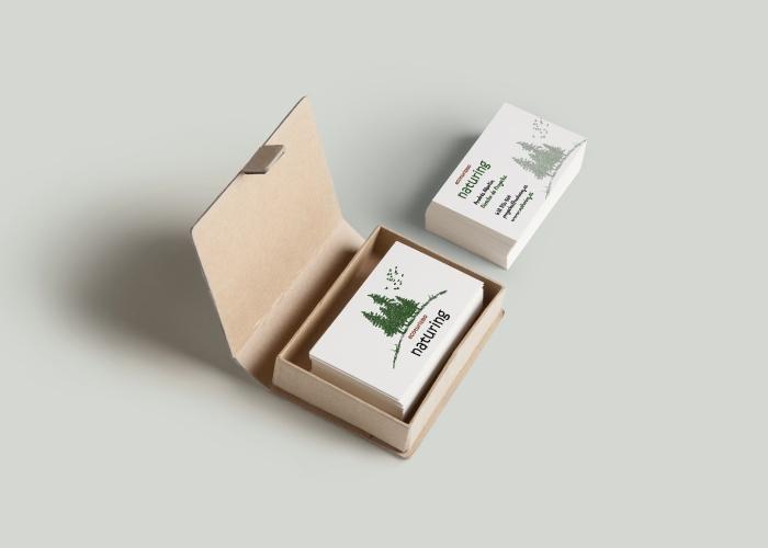 Diseño tarjetas ecoturismo