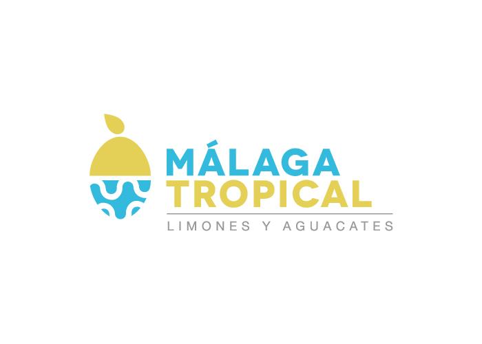 Diseño de logo exportación de frutas Málaga