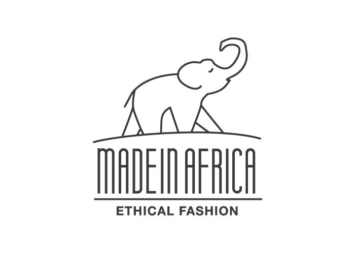 diseño logo moda elefante