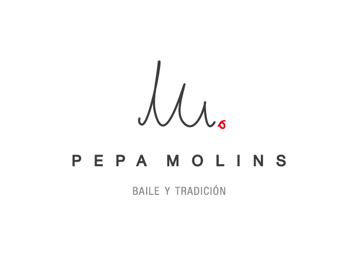 Diseño de logotipo para tienda de moda dedicada a la realización de trajes tradicionales y de baile