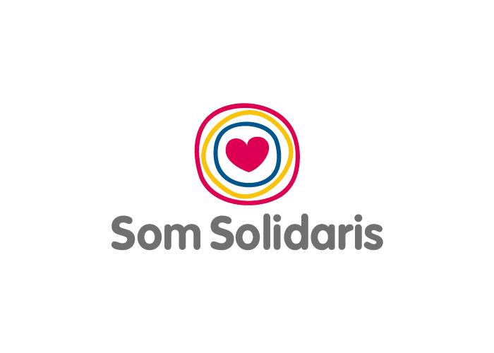 Diseño de logotipo para plataforma de empresas solidarias en cataluña