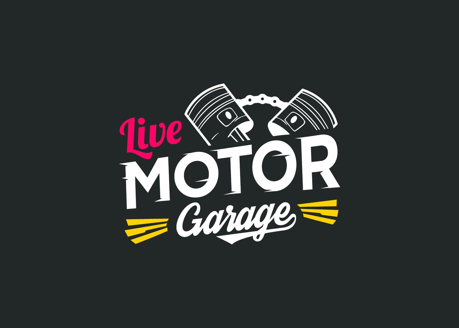 logo garage y motor