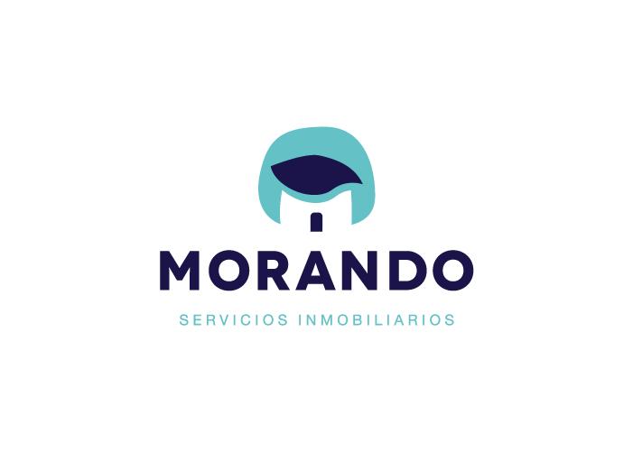 diseño logo morado