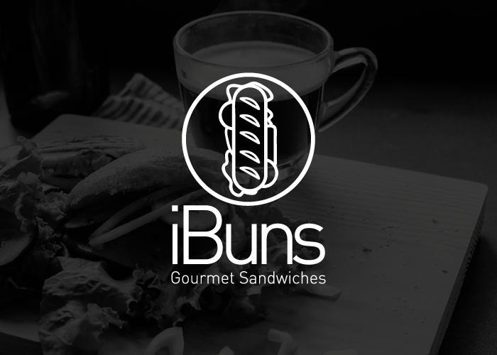 Diseño de logotipo para restaurante de sandwiches