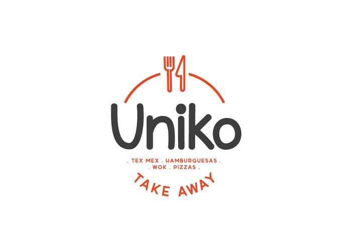Diseño de logotipo para restaurante dedicado al reparto de comida a domicilio