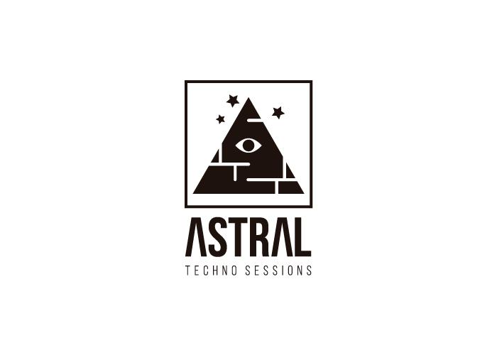 Diseño de logotipo para sesión de música Techno en Madrid