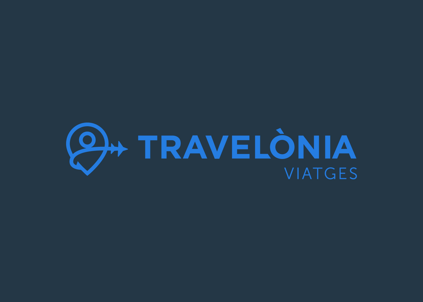 diseño logo que se sale del mapa