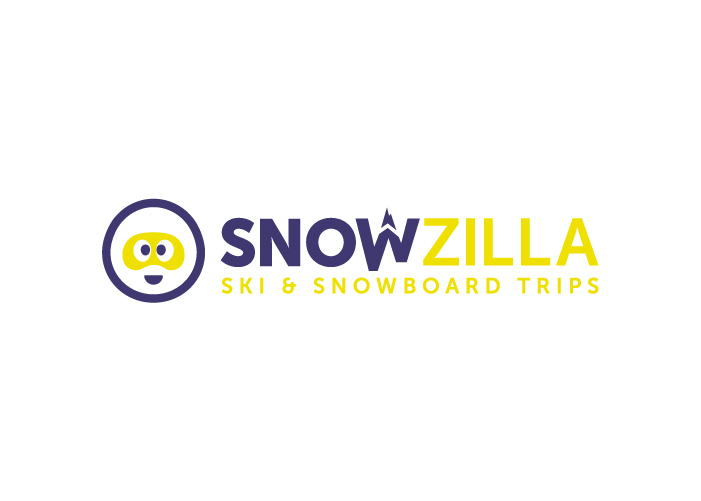 marca actividades ski snowboard logotipo