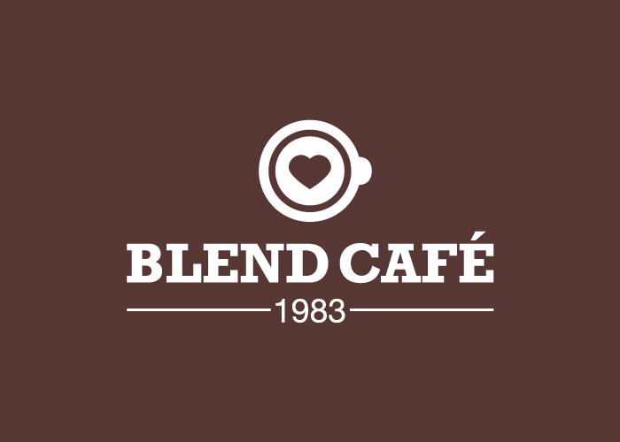 Diseño de logotipo cafetería Málaga