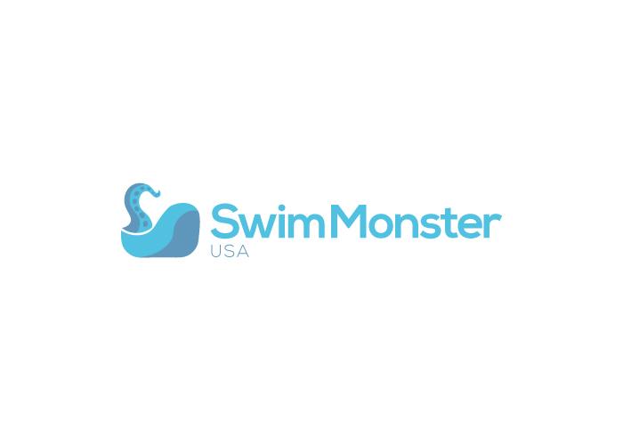 Diseño de logotipo para natación