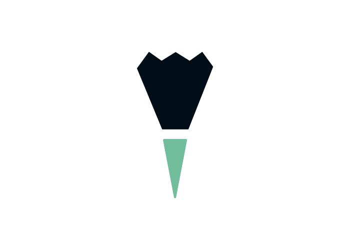 diseño de logotipo para la marca personal de un diseñador gráfico y creativo
