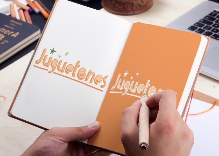Diseño de logotipo para tienda de juguetes