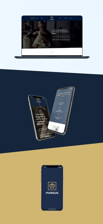 diseño web despacho abogados calle Larios
