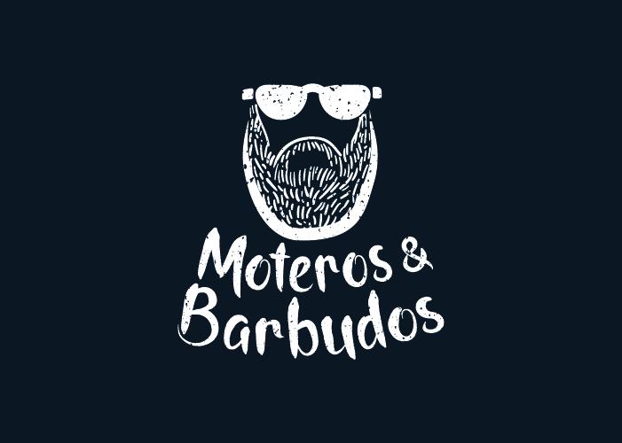 Creación marca logo Barberia Moteros