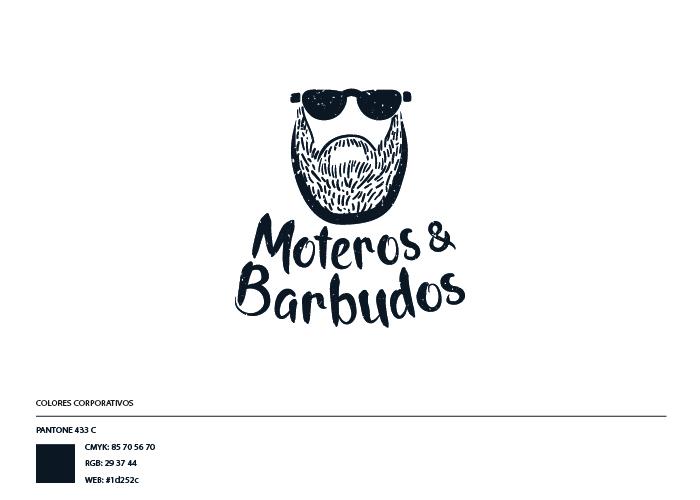 Marca barbería de motos