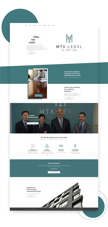 diseño web legal Málaga