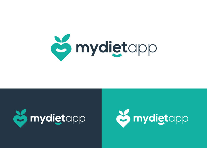 diseño logo app dietas