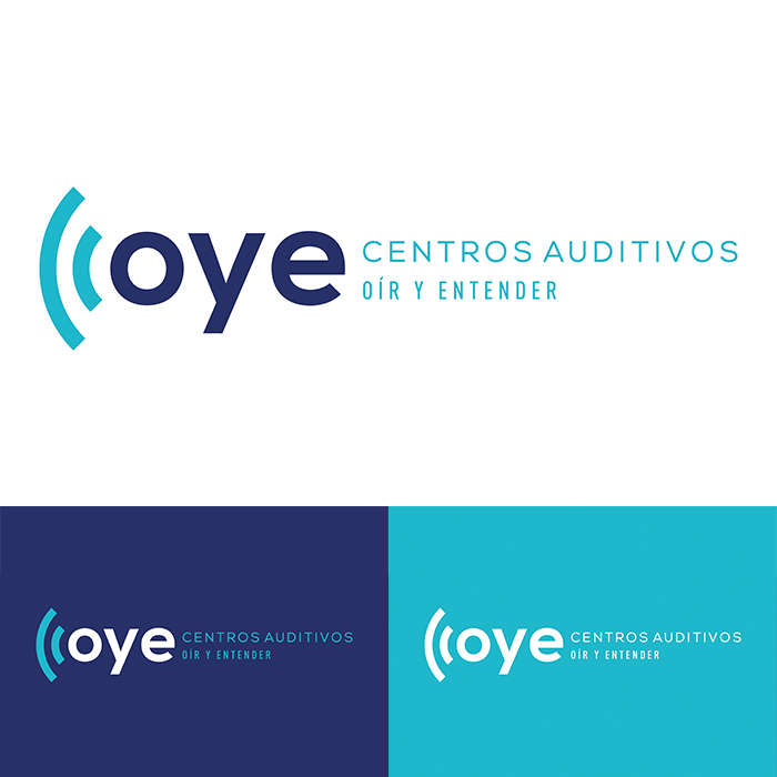naming y logo centro auditivo