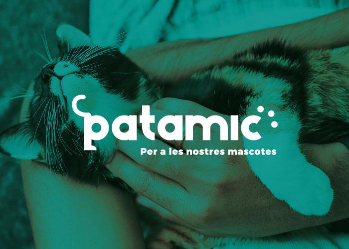 Diseño de logotipo para tienda de animales