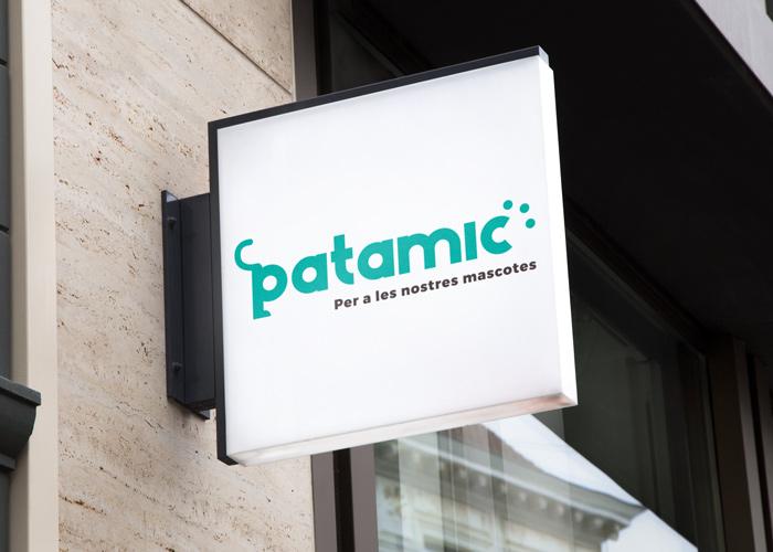 Diseño logotipo tienda para animales