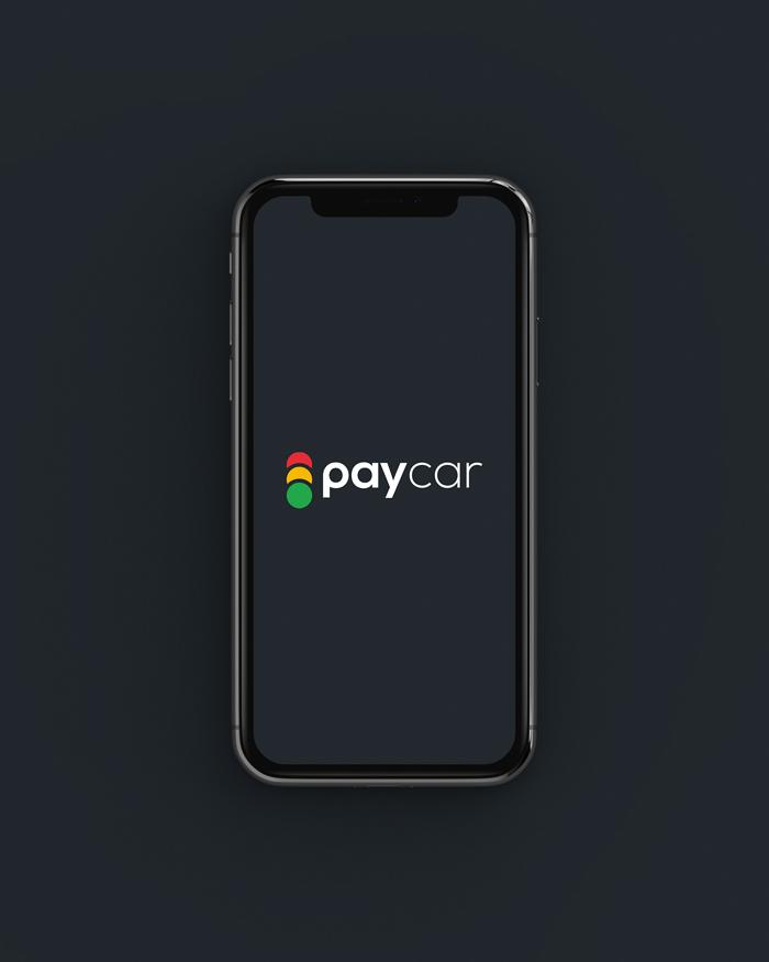 diseño logo plataforma de coche