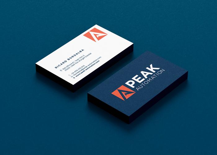Diseño de logotipo para empresa de automatización industrial