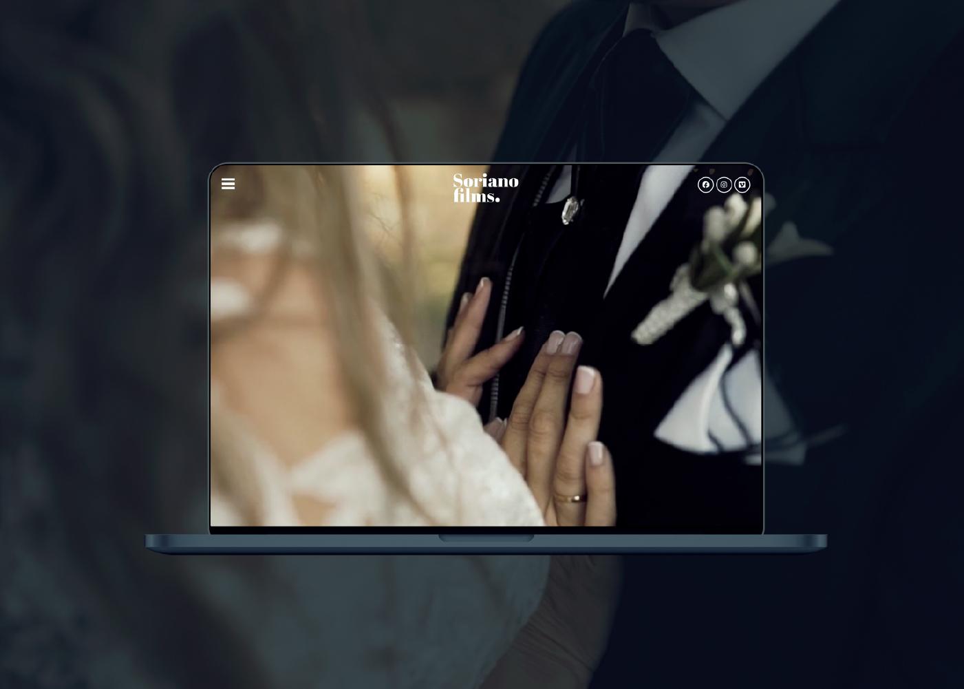 diseño web negro fotógrafo