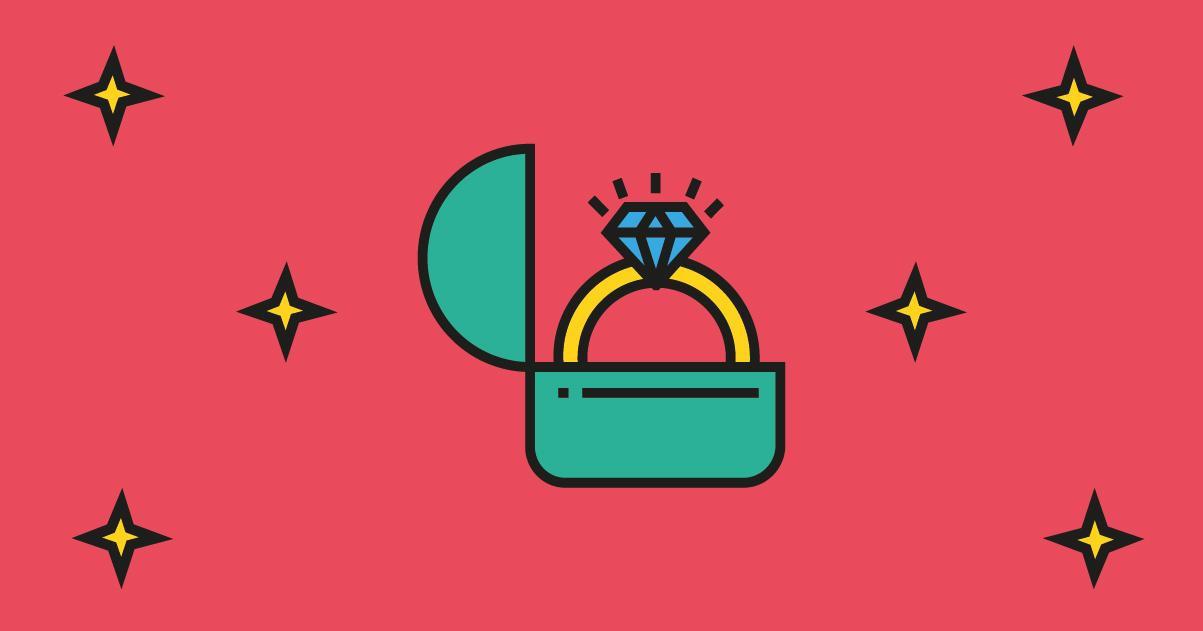 Marcas de joyas y logos brillantes