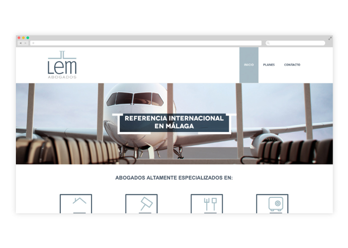 Diseño web concurso de acreedores