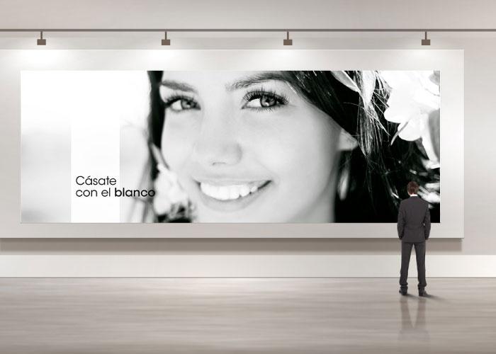 Diseño de campaña publicitaria para una clínica dental afincada en Madrid