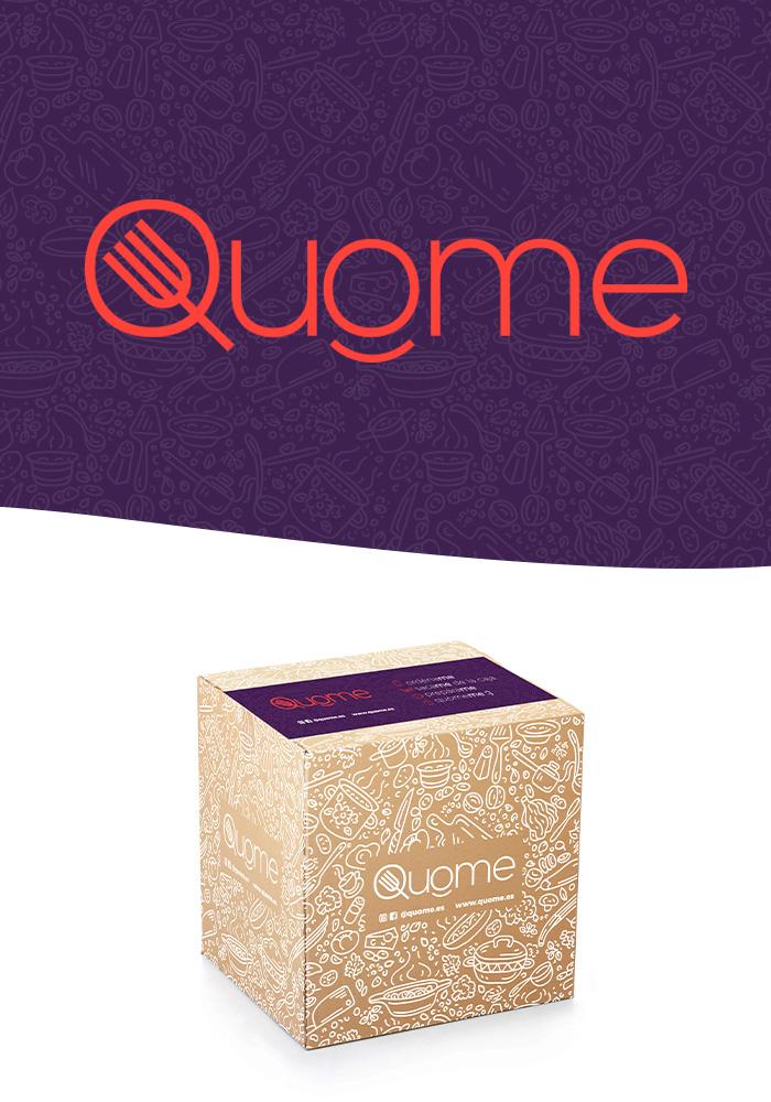 diseño logo y naming caja de alimentos
