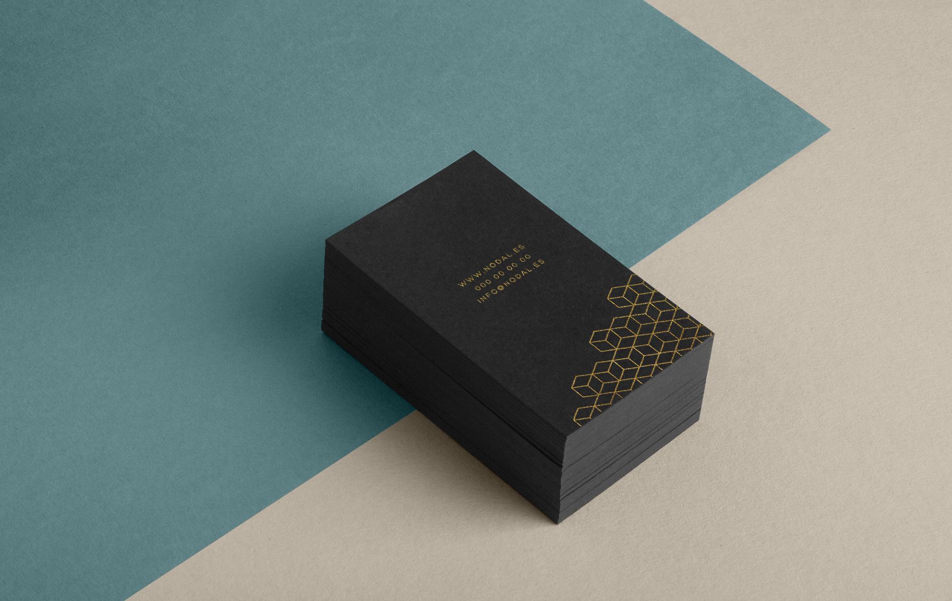 Diseño tarjetas visualización 3D