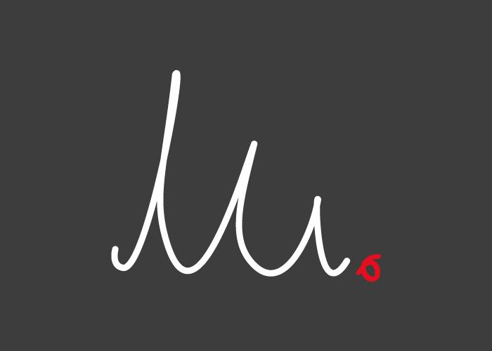 Diseño logo firma danza