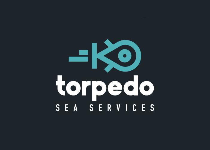 Diseño logo aplicación para envíos en el mar