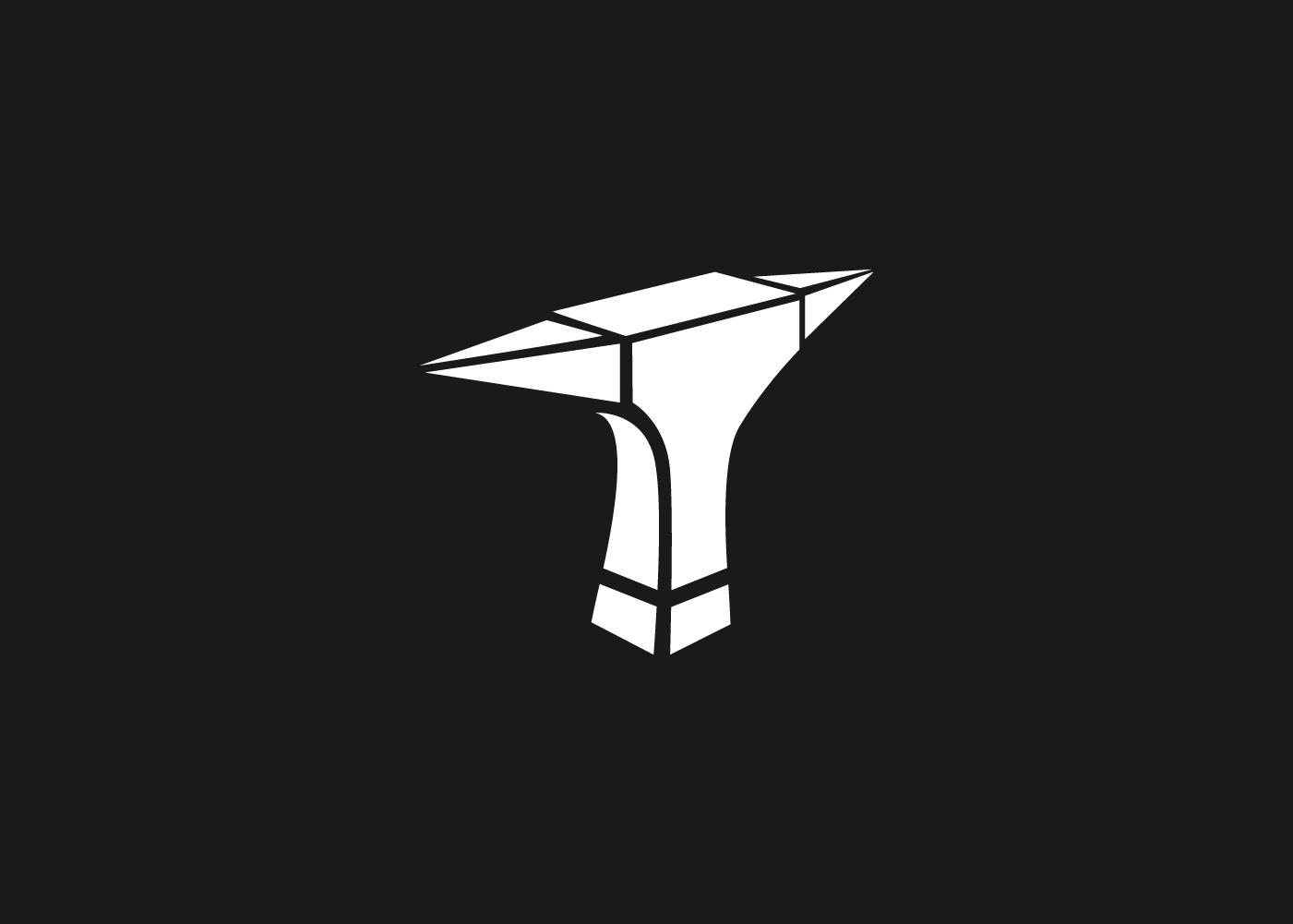 diseño logo escultor en acero
