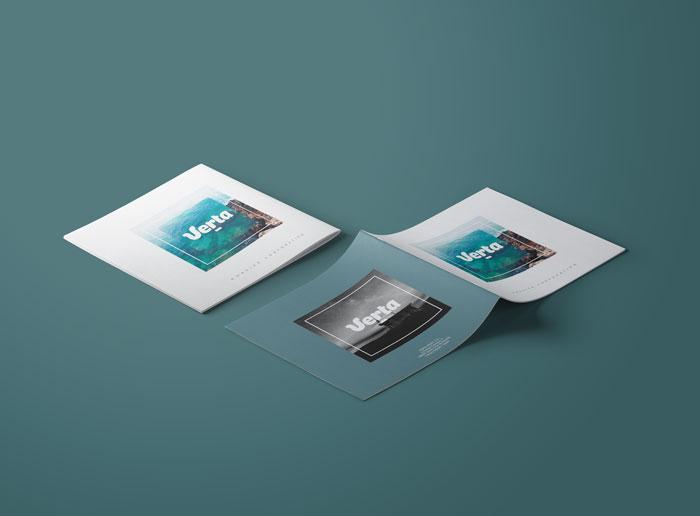 diseño dossier empresa bancaria