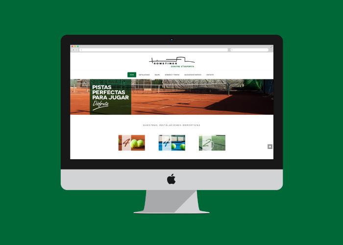 Diseño web para club deportivo