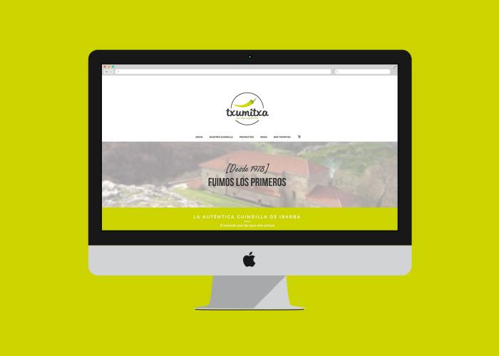 Diseño Web guindillas de Ibarra