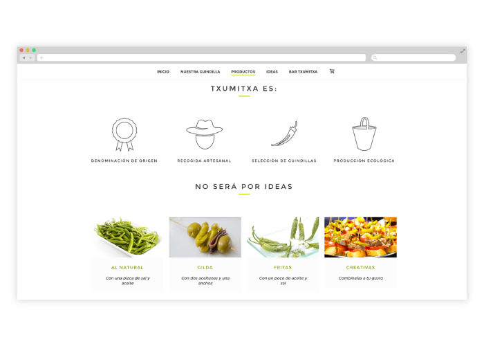 web-empresa-alimentos