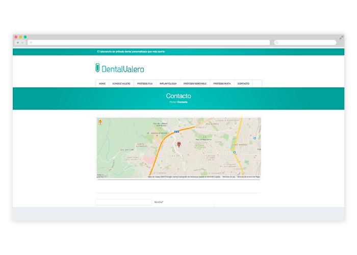 Diseño Web para laboratorio dental en Barcelona